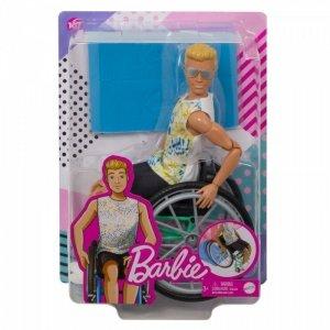 Mattel Lalka Barbie Ken na wózku