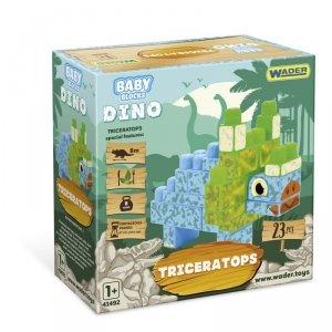 Baby Blocks Dino klocki Triceratops