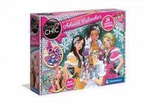 Clementoni Zestaw kosmetyków Crazy Chic Kalendarz adwentowy