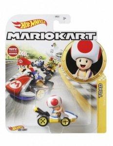 Hot Wheels Pojazd podstawowy Mario Kart Toad