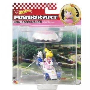 Hot Wheels Pojazd-lotnia Mario Kart Księżniczka Peach