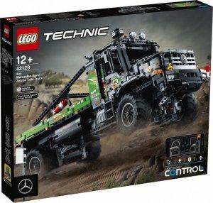 LEGO Klocki Technic 42129 Ciężarówka Mercedes-Benz Zetros z napędem na 4 koła