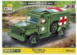 Cobi Klocki Klocki HC WWII 1942 Ambulance WC 54