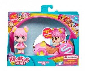 Tm Toys Pojazd z laleczką Kindi Kids Mini Auto Donatiny