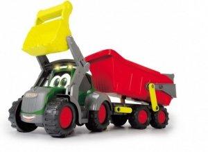 Dickie Pojazd ABC Happy Fendt traktor z przyczepą 65 cm