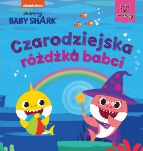 Wydawnictwo Słowne Książeczka Baby Shark. Czarodziejska różdżka babci