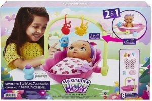 Mattel My Garden Baby Wanienka-łóżeczko 2 w 1