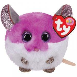 Meteor MaskotkaTY Puffies Purpurowa mysz - Colby