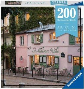 Ravensburger Polska Puzzle 200 elementów Momenty, Paryż