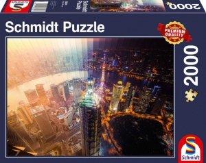 Schmidt Puzzle 2000 elementów Dzień i noc