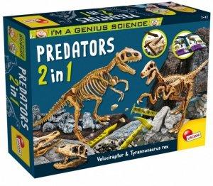 Lisciani Zestaw naukowy I'M A Genius Predators 2 w 1