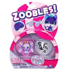 Spin Master Figurki Zoobles Zwierzątka 2pak Butterly/Fox