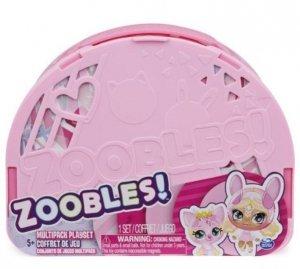 Spin Master Figurki Zoobles Balerina i Zwierzątka Multipak