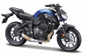 Maisto Motocykl Yamaha 2018 MT-07 1:18