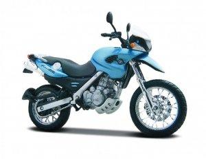 Maisto Model metalowy Motocykl BMW S1000R 1:18