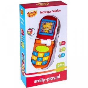 Smily Play Telefon światło i dźwięk pomarańczowy
