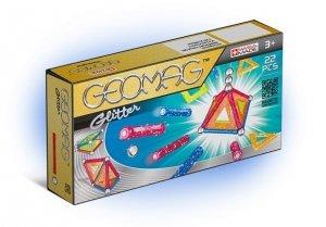 Geomag Klocki magnetyczne Glitter 22 elementy