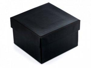 Prezentowe pudełko na zegarek - czarne