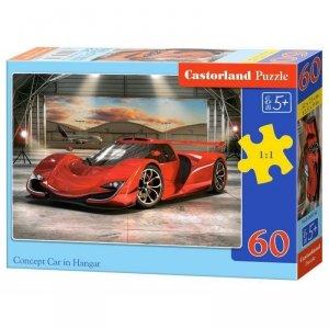 PUZZLE 60EL. CAR IN HANGAR