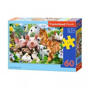 Puzzle 60el. farm friends