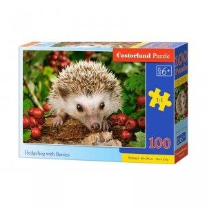 Puzzle 100 hedgehog berries