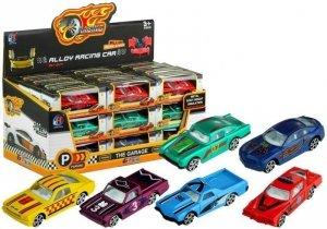 Autko Metalowe Resorak Samochodzik 6 Kolorów