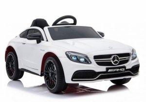 Auto na Akumulator Mercedes C63 Biały