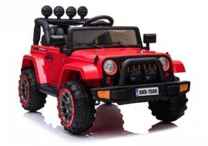 Auto na Akumulator Jeep BRD-7588 Czerwony