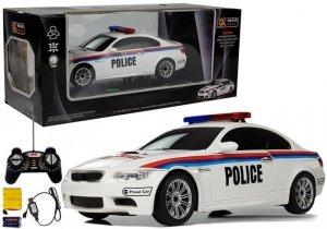 Auto Zdalnie Sterowane Policja  1:18 R/C