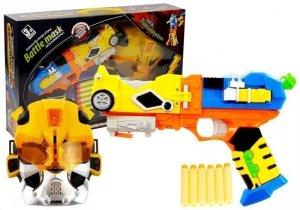 Pistolet na Strzałki Piankowe  Robot 2w1 + Maska