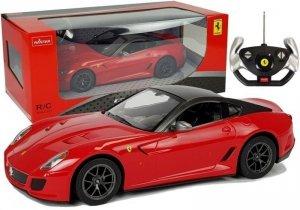 Auto R/C Ferrari 599 GTO Rastar 1:14 Czerwone na Pilota