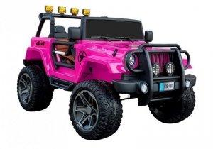 Auto na Akumulator WXE-1688 4x4 Różowy