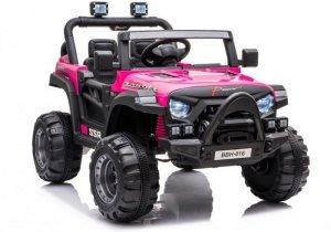 Auto na Akumulator BBH-016 Różowy
