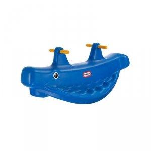 LITTLE TIKES Niebieski Bujak Wieloryb na Biegunach
