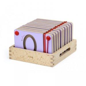 Tabliczki Magnetyczne Nauka Pisania Cyferki Viga Toys