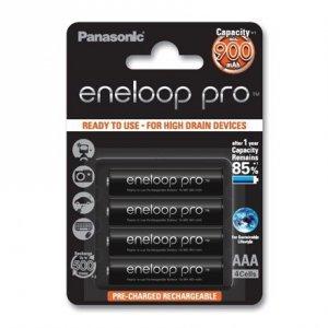 Panasonic eneloop AAA/HR03, 900 mAh, Rechargeable Batteries Ni-MH, 4 pc(s)
