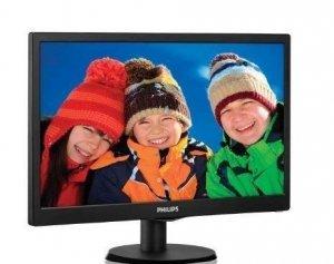 Philips 193V5LSB2/10 18.5 , TN, HD ready, 1366 x 768 pixels, 16:9, 5 ms, 200 cd/m², Black
