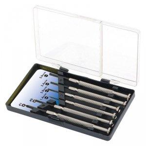 Logilink Small Screwdriver Set, 6pcs Incl. transport boxThe set includes1x slot driver 1.4 mm1x slot driver 2.0 mm1x slot driver