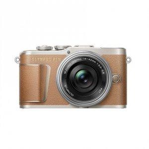 Olympus PEN E-PL9 Kit 14-42 Mirrorless Camera Kit, 16.1 MP, ISO 25600, Display diagonal 3 , Video recording, Wi-Fi, Brown/Silve