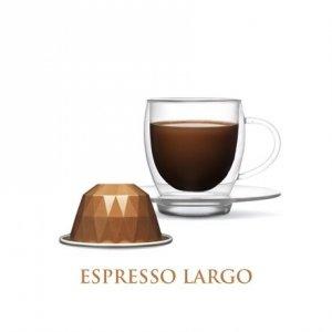 Belmoca Largo Coffee Capsules, 10 capsules, Coffee strength 6/12, 55 g