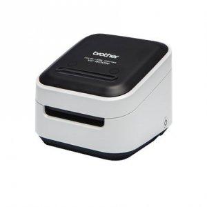 Brother VC-500W Colour, ZINK Zero-Ink, Label Printer, Wi-Fi, Black/ grey