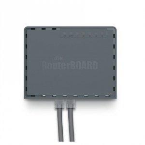 MikroTik Router hEX S RB760iGS 10/100/1000 Mbit/s, Ethernet LAN (RJ-45) ports 5, 1xUSB