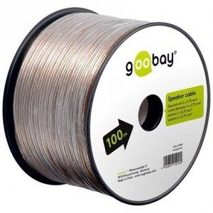 Goobay Speaker cable transparent CCA 15018 100 m