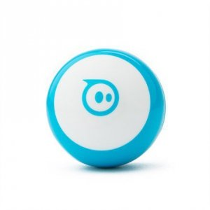 Sphero Mini App-enabled Robotic Ball - Robot Blue/ white, Plastic, No