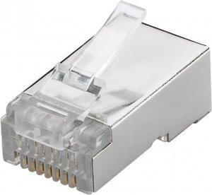 Goobay 93829 RJ45 plug, CAT 6 STP shielded