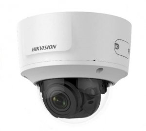 Hikvision IP Camera DS-2CD2785G0-IZS Dome, 8 MP, 2.8-12mm/F1.4, Power over Ethernet (PoE), IP67, IK10, H.265+, Micro SD, Max.128
