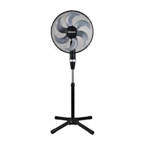 Termozeta TZWZF01 Stand Fan, Number of speeds 3, 55 W, Oscillation, Diameter 40 cm, Black