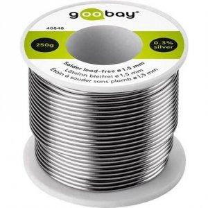 Goobay Solder lead-free; ø 1.5 mm, 250 g 40848
