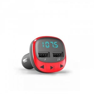 Energy Sistem Car FM Transmitter , Red