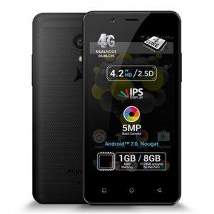 Allview P4 Pro Black, 4.2 , HD IPS, 768 x 1280 pixels, Internal RAM 1 GB, 8 GB, microSD, Dual SIM, 3G, 4G, Main camera 5 MP, Se